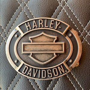 HD B&S belt buckle